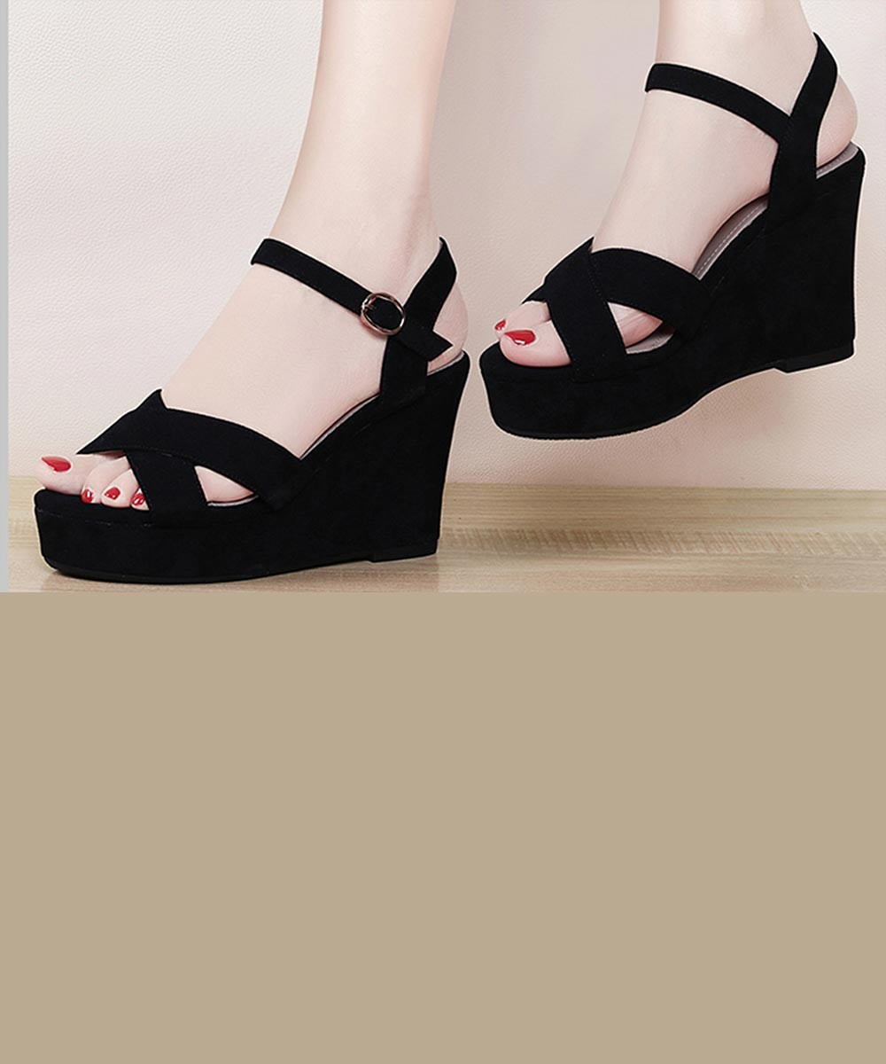 For you wedges Black