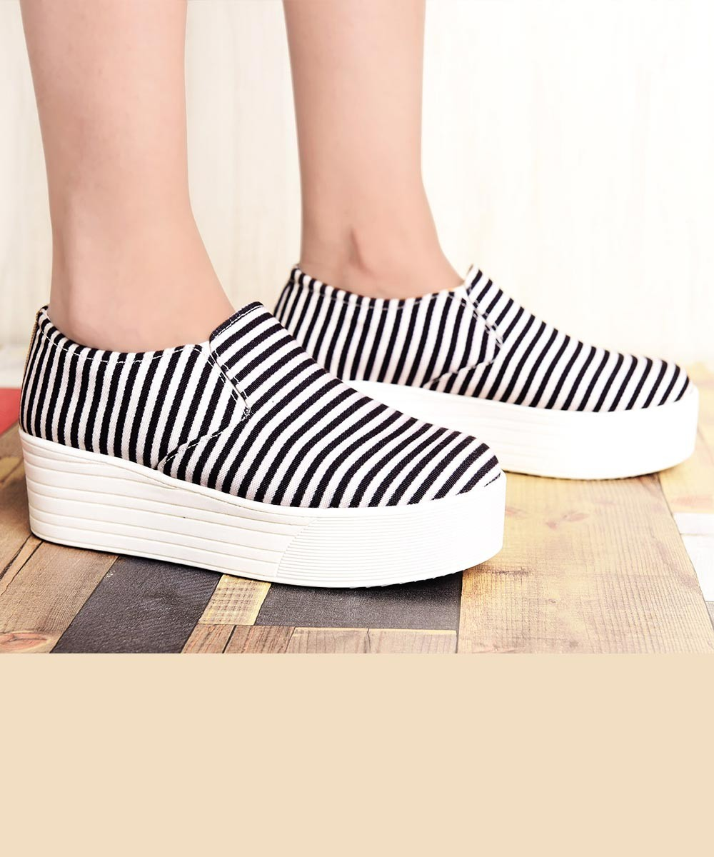 Gone Sailing Striped Sneakers
