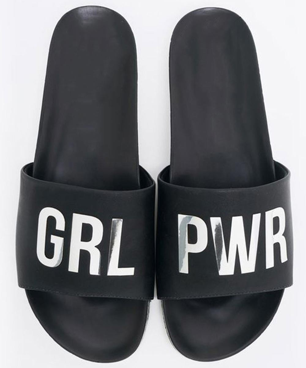 Girl power is everything slip on