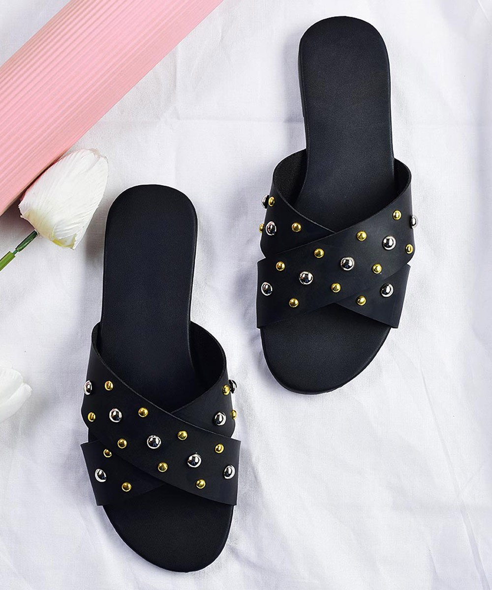 Delight in Flight Flats Black