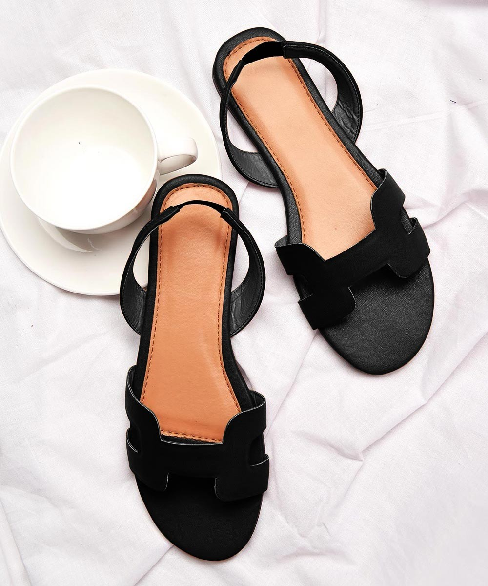 Casanova dream Black flats