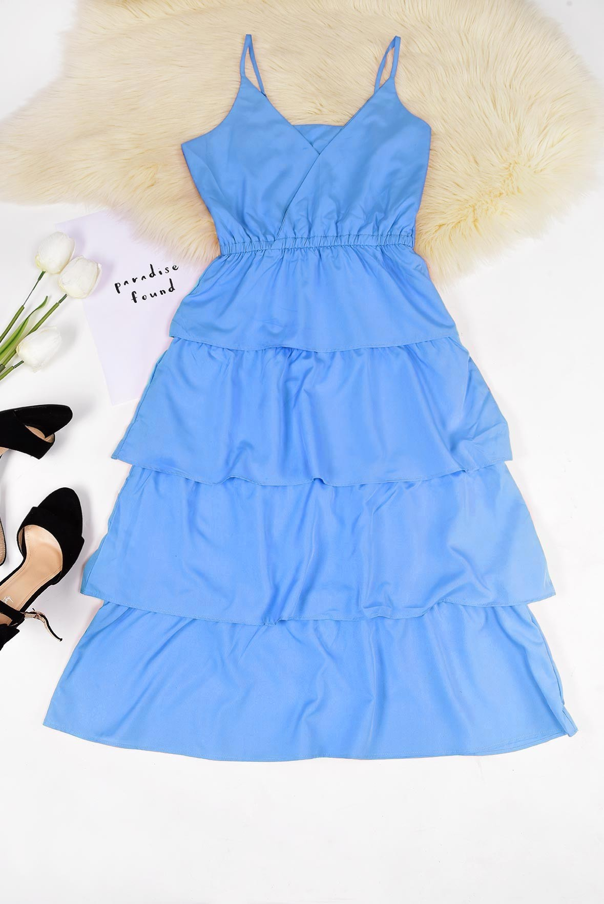 Create your look blue dress