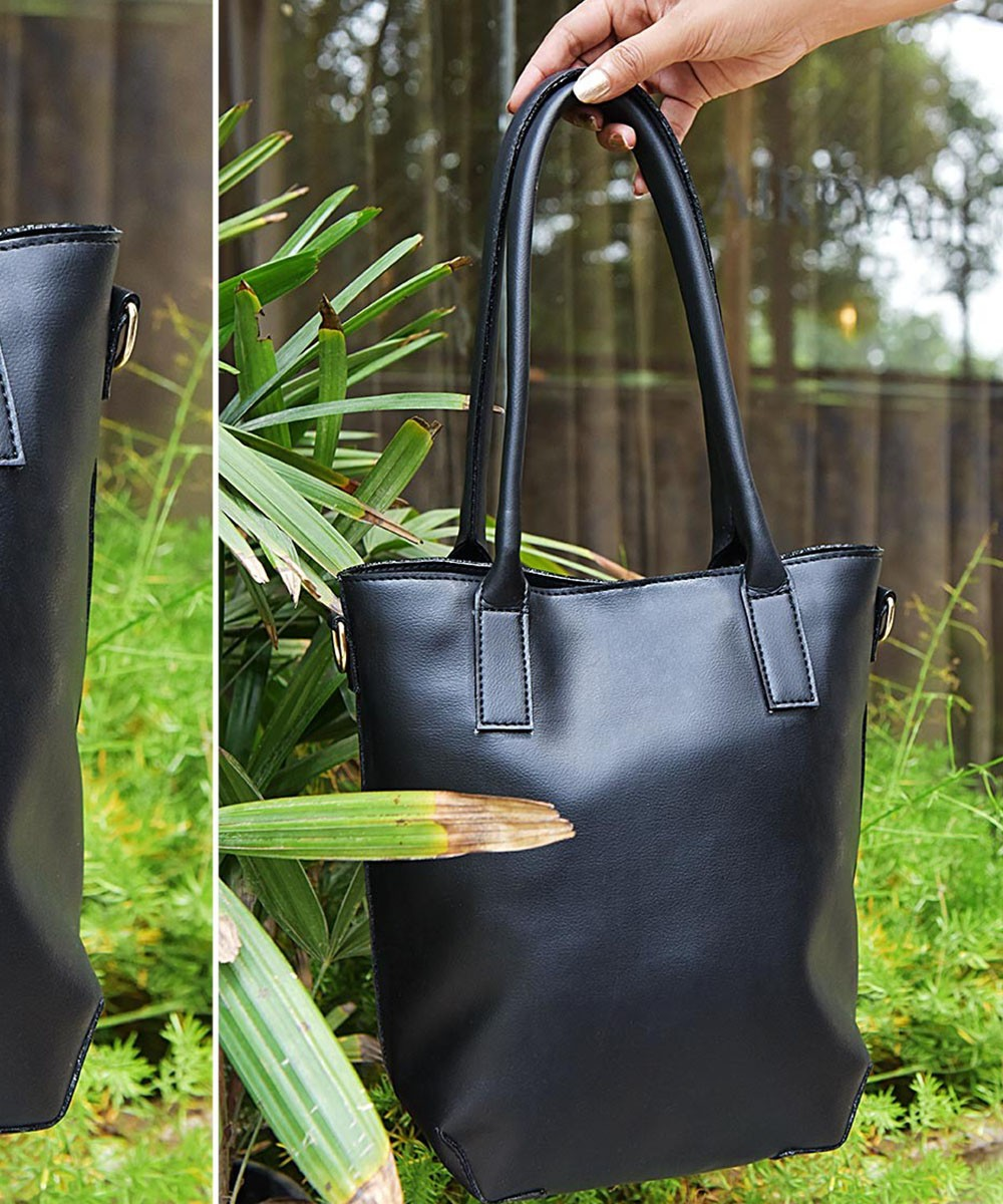 Steal my attention bag black