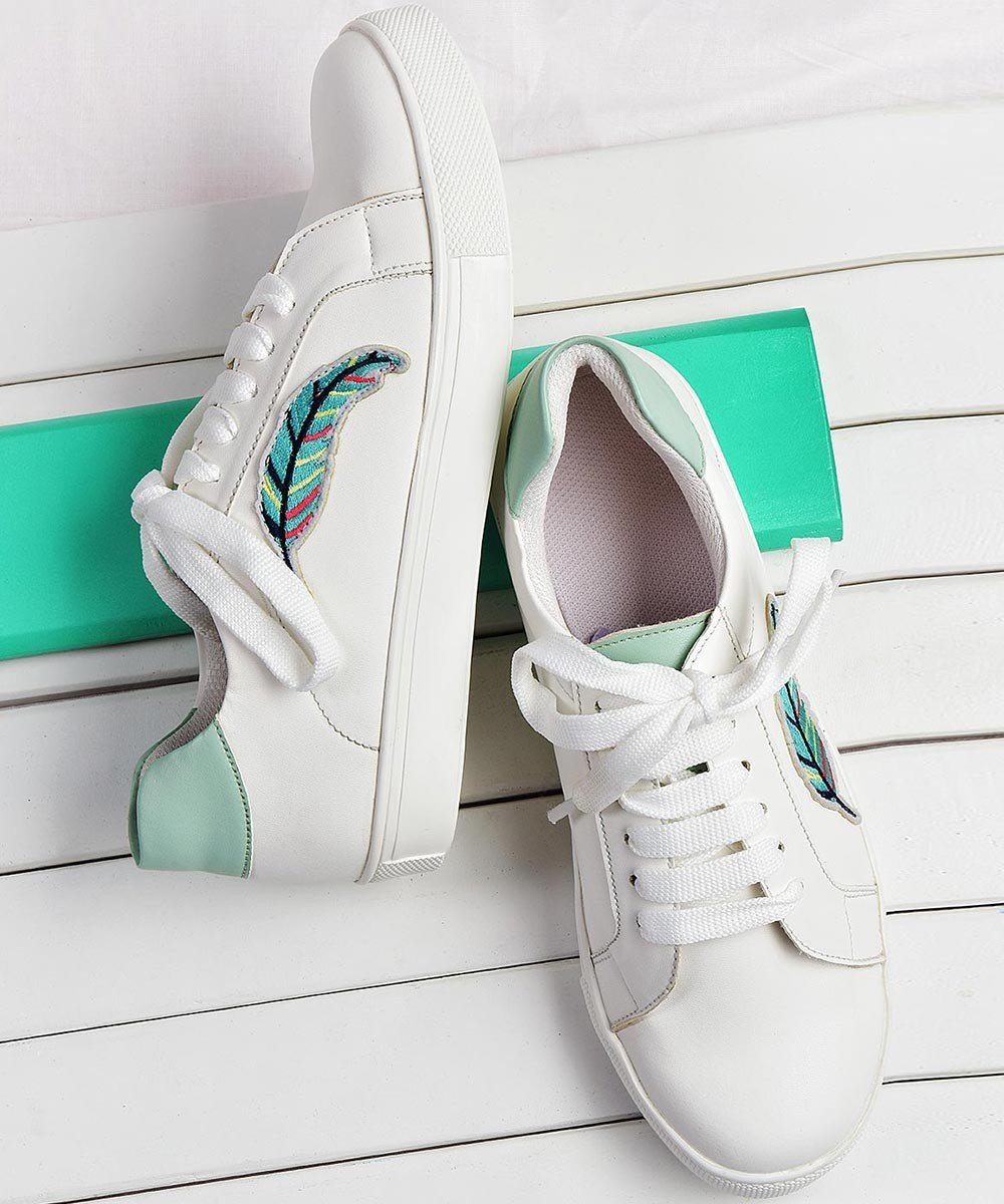 Have it all white sneakers