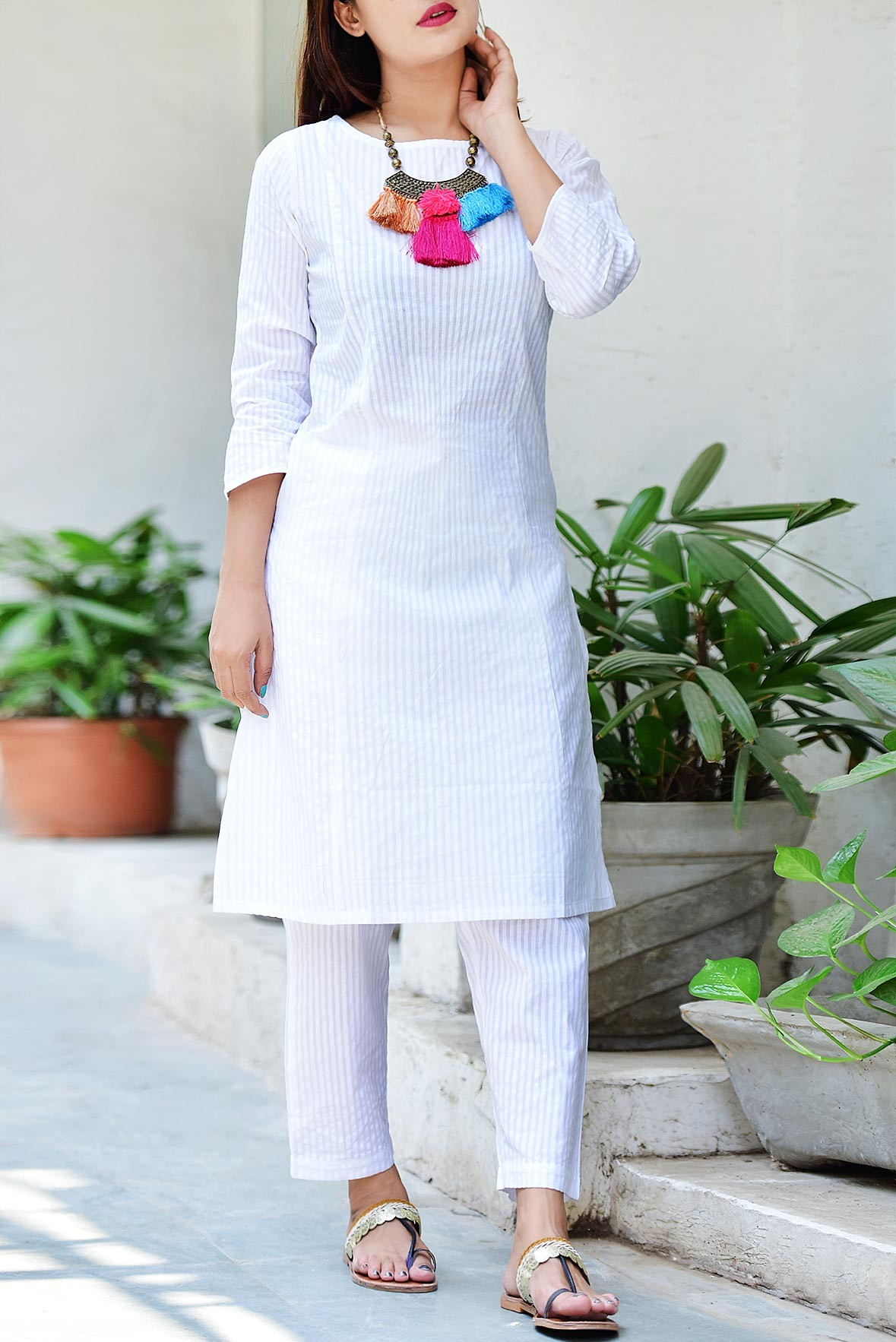Set- Peaceful mind kurti & pant