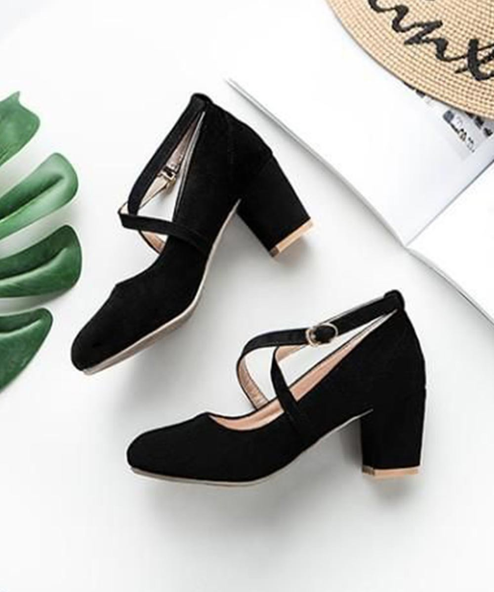 Make a statement block heel