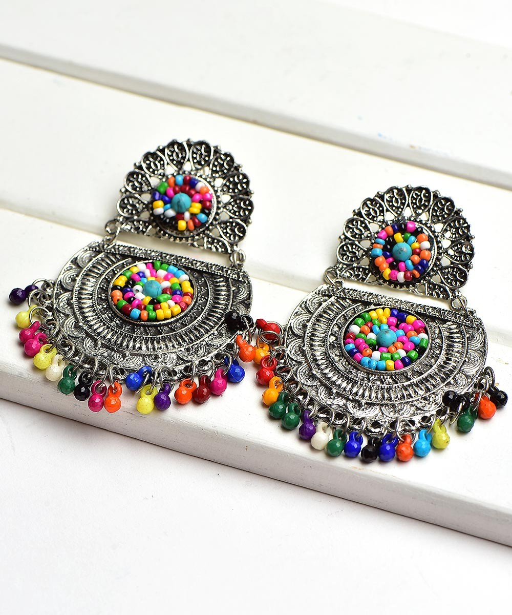 Own My Choice Beaded Earrings