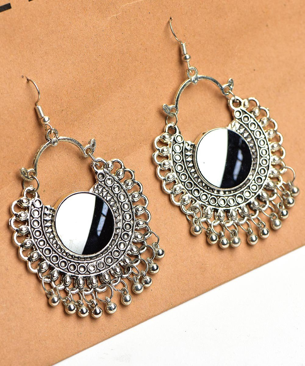 Fearlessely Round Earrings