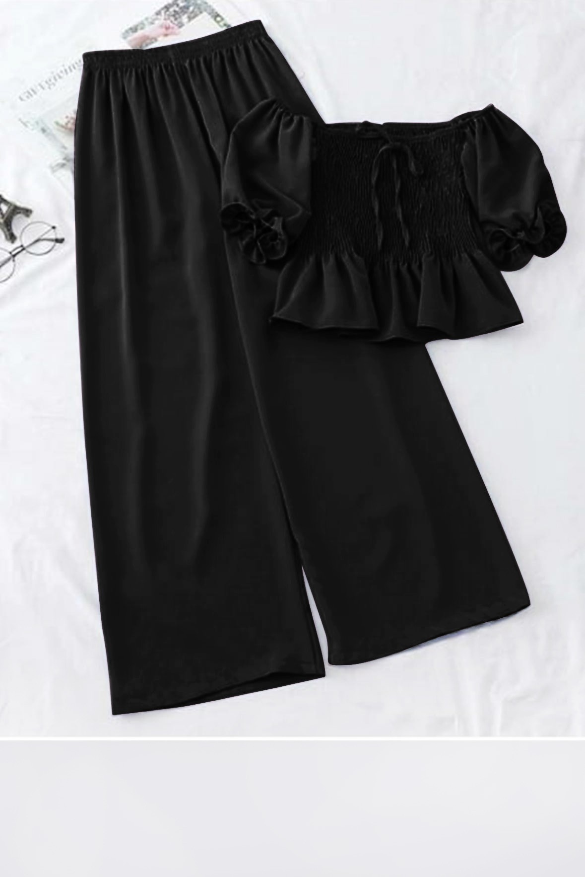 Set- Wowing where abouts outfit black