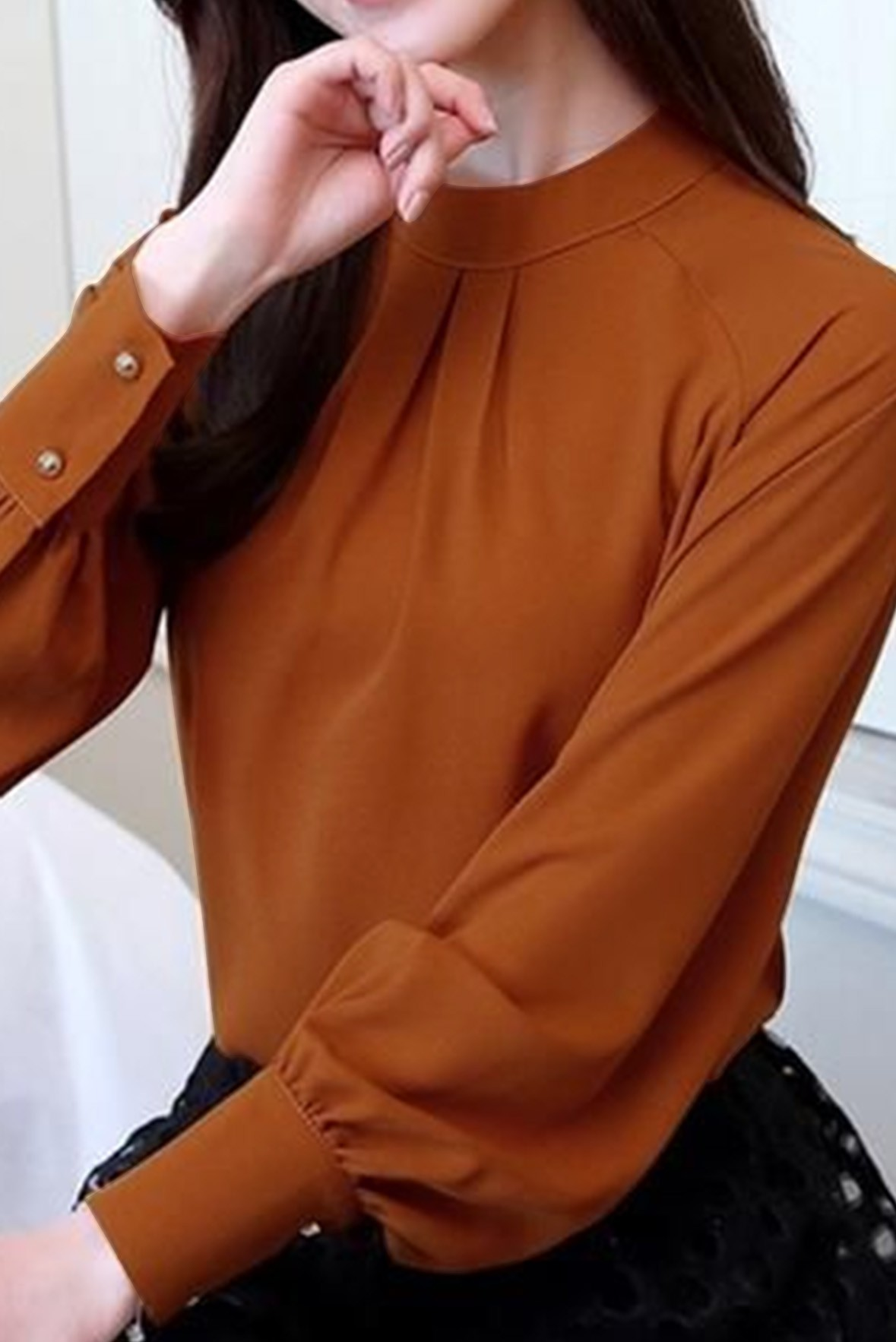 Inspired Top Brown
