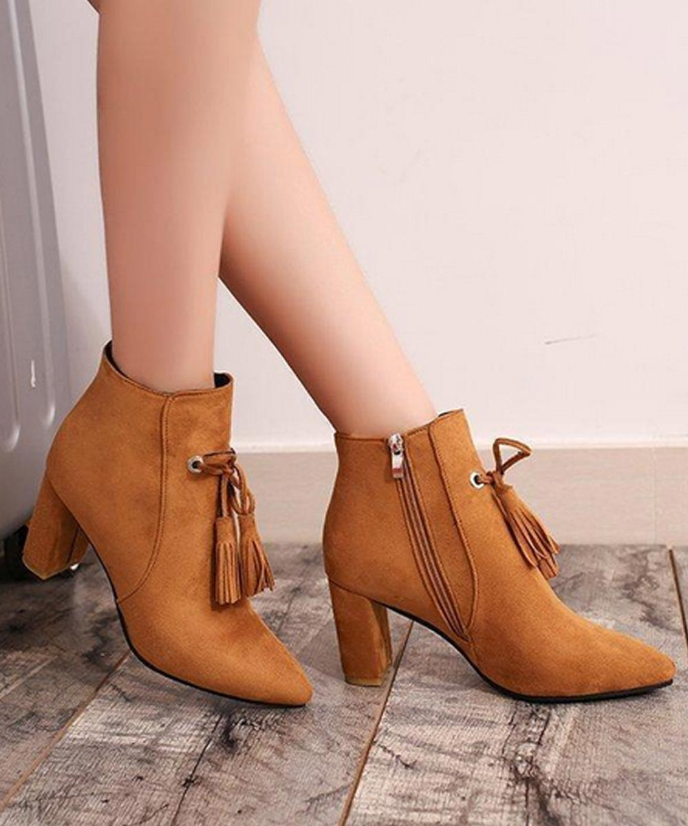 Lets rock the party boots ( brown )