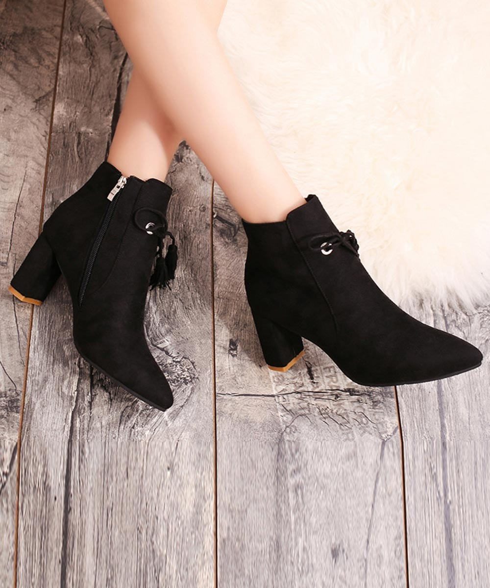 Lets rock the party boots ( black )
