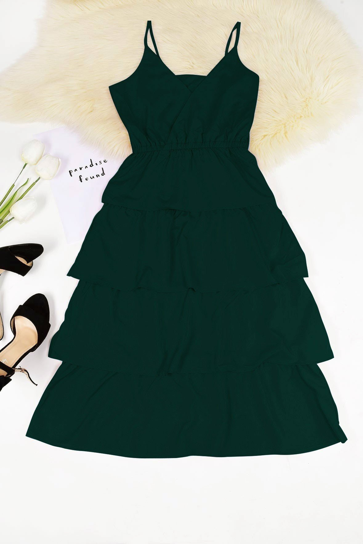 Create your look green dress