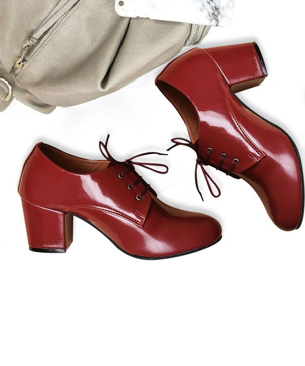 Passion About My Shoe Marsala