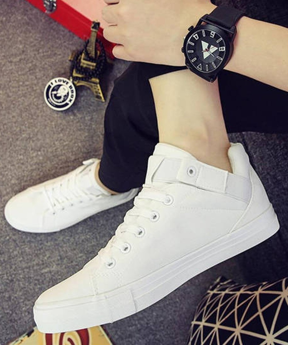 Court point sneakers White