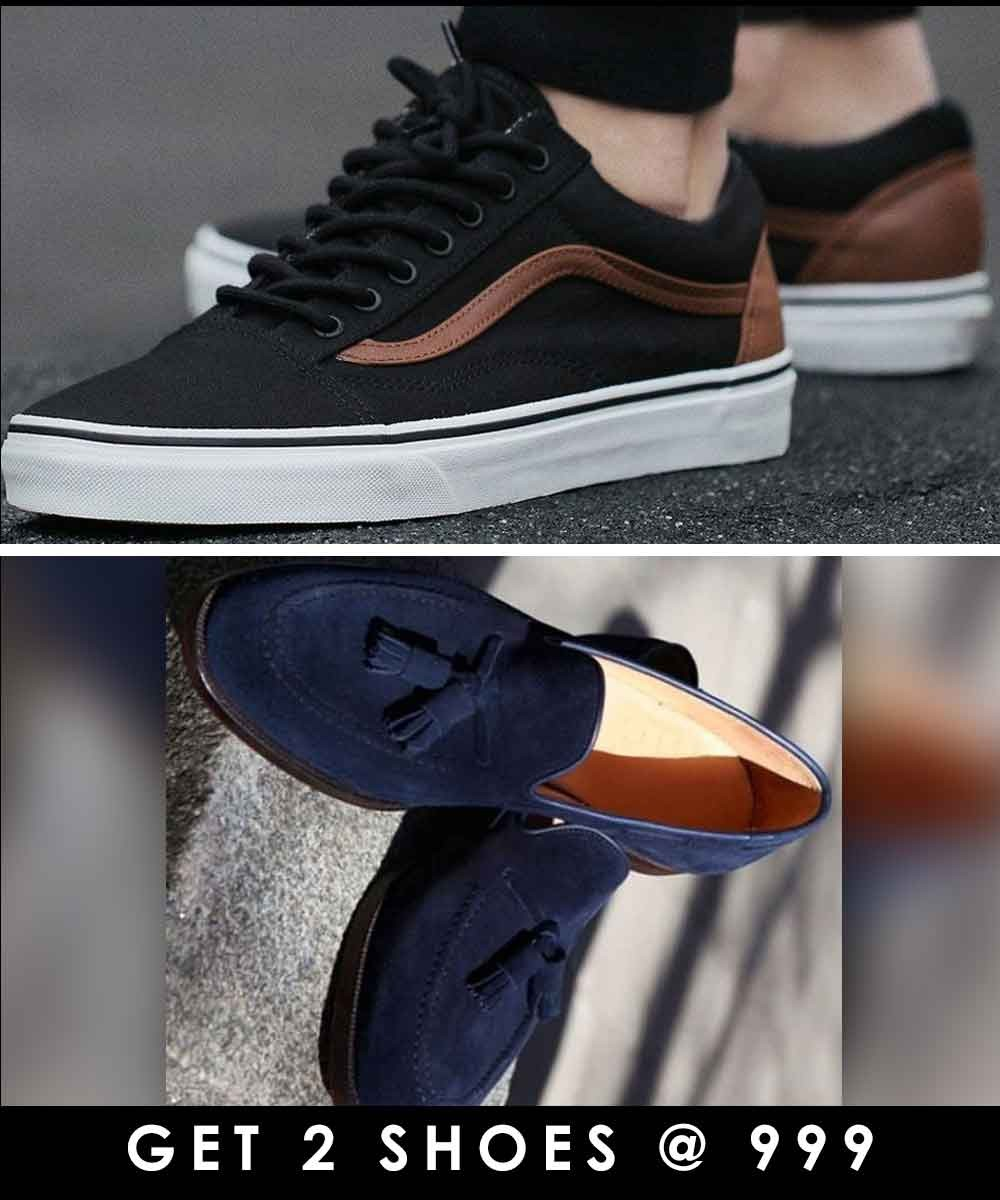 Combo - Tassels around shoes and Era of eminem sneakers