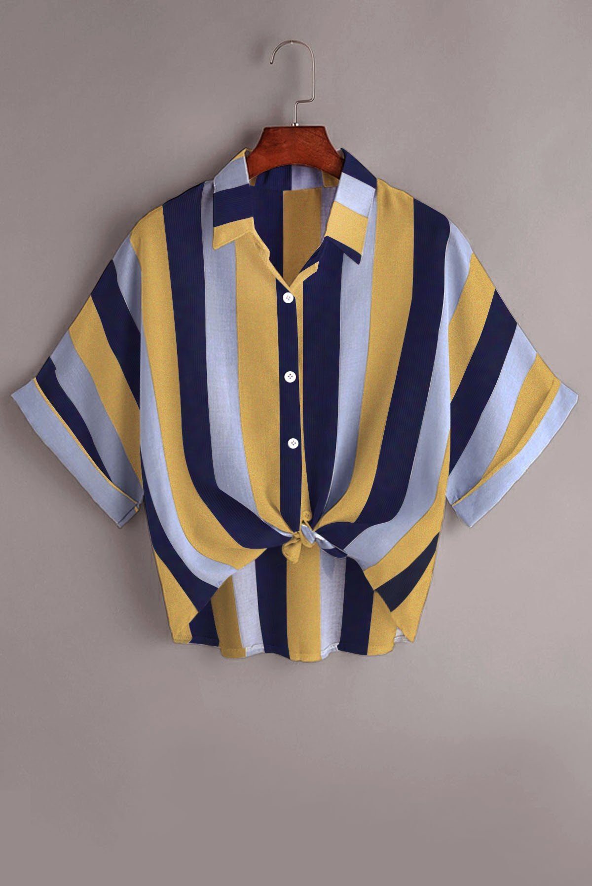 Stripe knot coloured top
