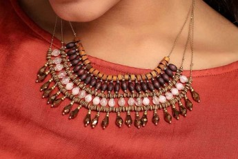 Earthy Enigmatic Necklace